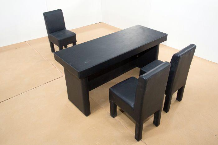 软包桌椅  防撞桌椅