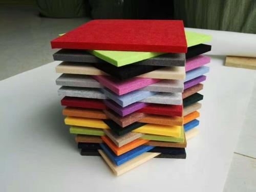 幼儿园墙面聚脂纤维吸音板